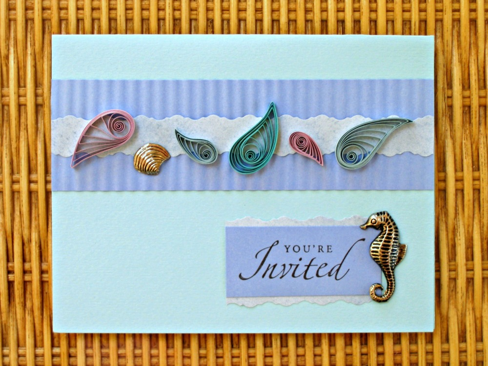 You're Invited Under the Sea Card