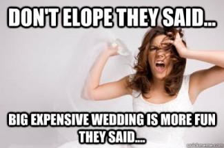 dont elope diy wedding invitations