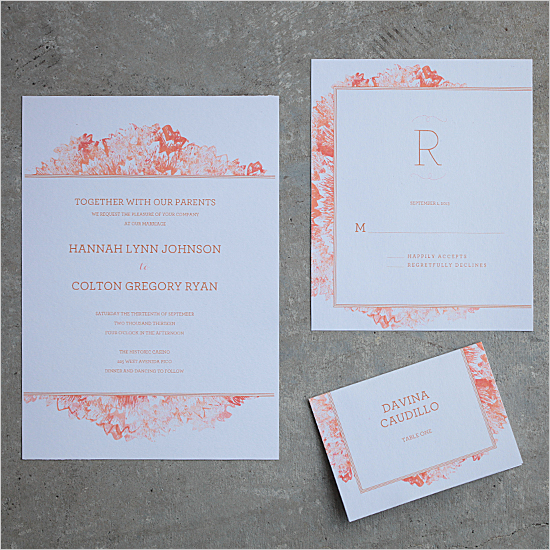diy wedding invitations petunia printable