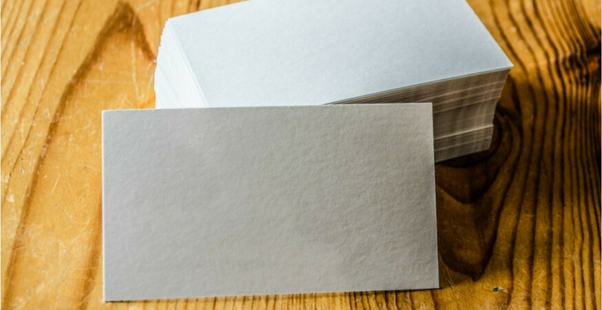 Project Pointers: Not-Just-For Business Cards