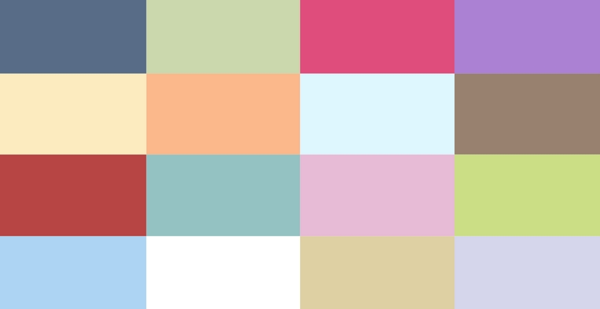 The Perfect Palette: Wedding Color Collections
