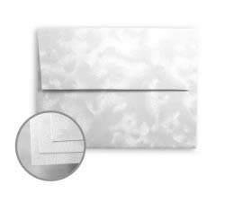 Constellation Jade Silver Announcement Envelopes
