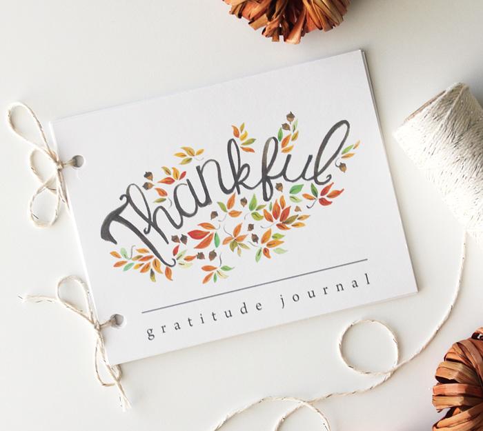 Gratitude Journal Thanksgiving Printable