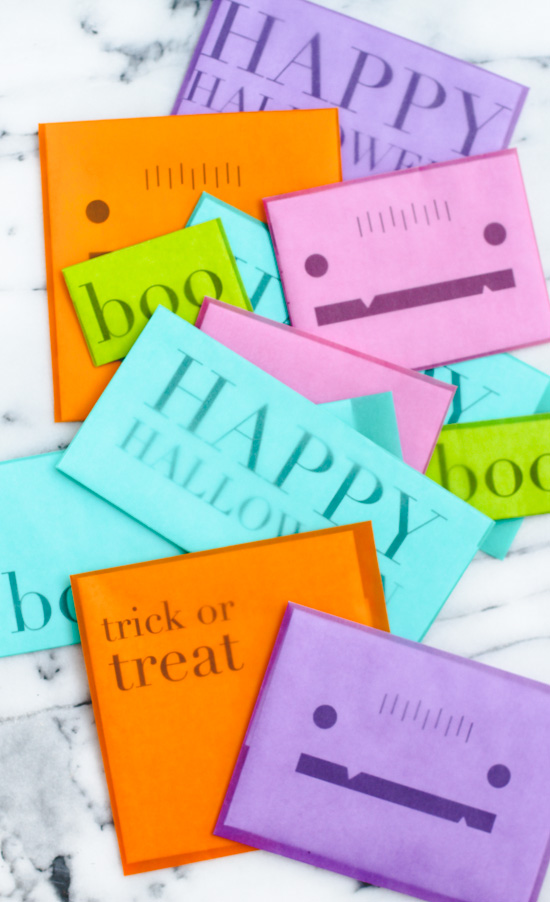 Halloween Snail Mail Printable