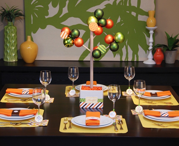 Thanksgiving Tablescape Party Printables