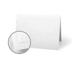 Classic Crest White Folded Cards