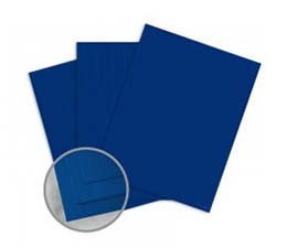 ColorMates Navy Twill Card Stock