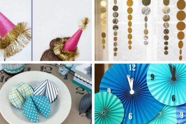 Easy DIY NYE Decorations