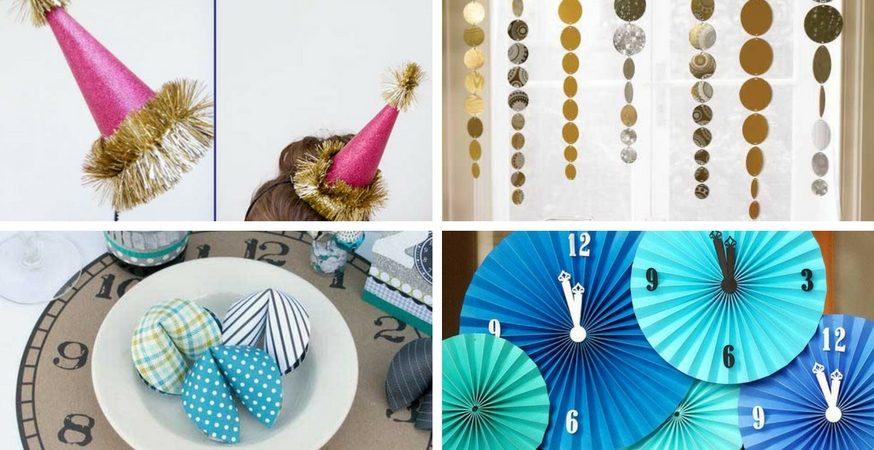 Easy DIY NYE Decorations