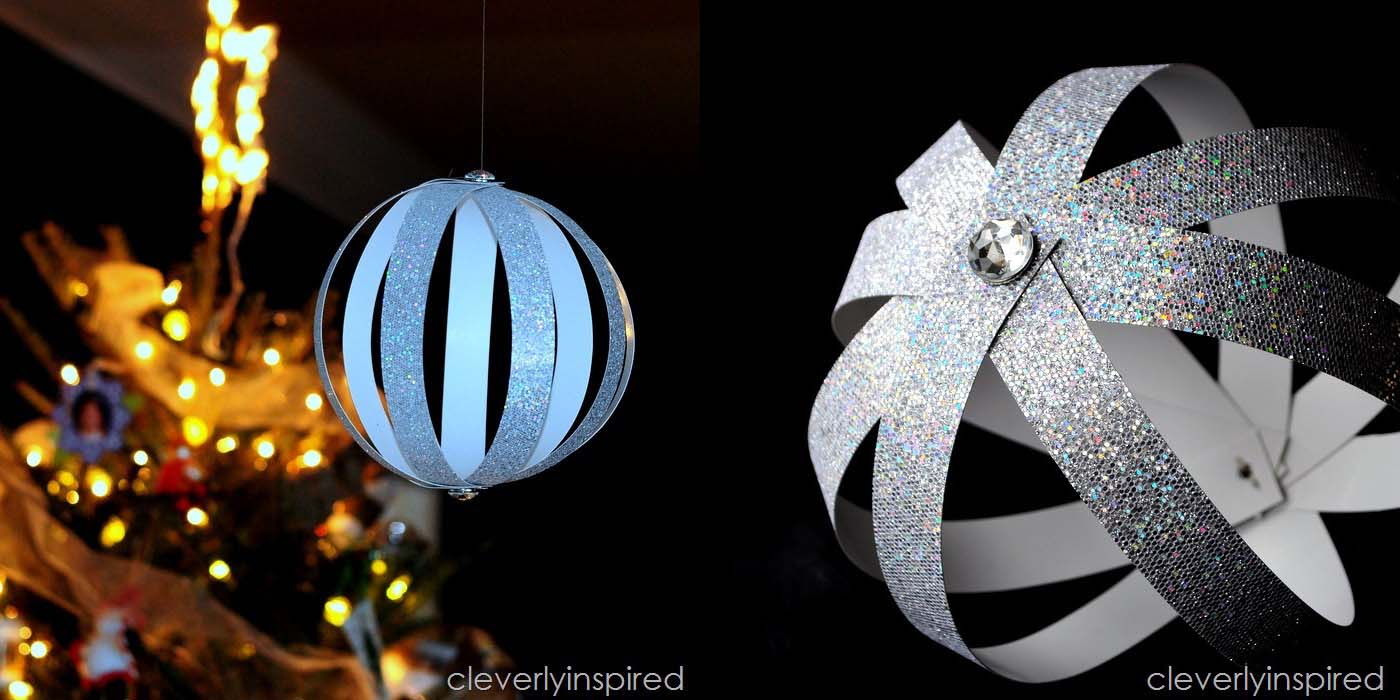Glittery Baubles by Cleverly Inspired