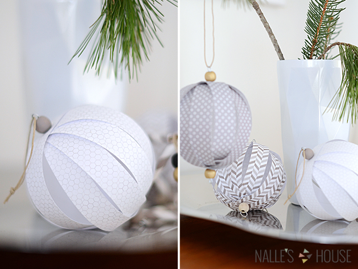 last minute holiday decorations the paper blog last minute paper tree bauble