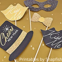 Printable Photo Props Snapfish