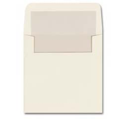 Fine Impressions Stationery Ecru Pearl-LinedEnvelopes with Pearl Liner