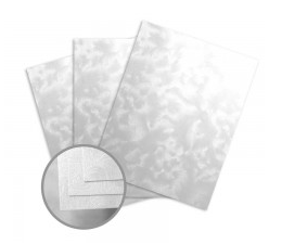Pearlescents Swirly White Card Stock