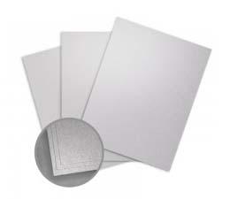 Petallics Silver Ore Card Stock