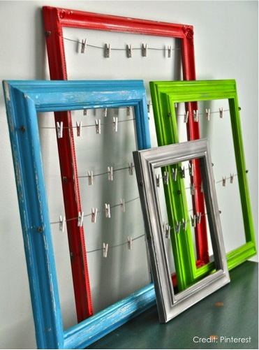 Recycled Frames Card Display