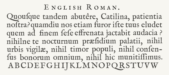 Roman Type
