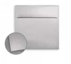 ASPIRE Petallics Silver Ore Square Envelopes