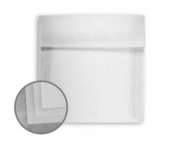 Glama Natural Clear Square Envelopes