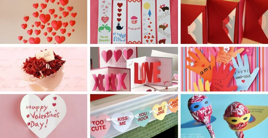 9 DIY Valentines Day Cards, Gifts & Decorations