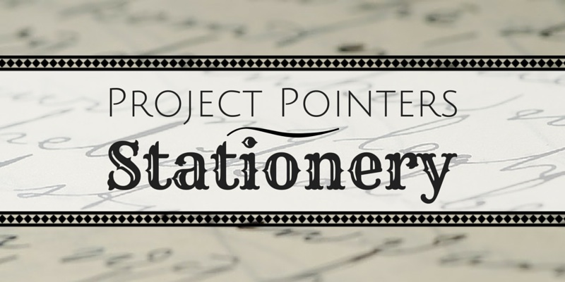 Project Pointers Stationery