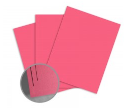 ColorMates Deep Pretty Pink Card Stock Valentines Day