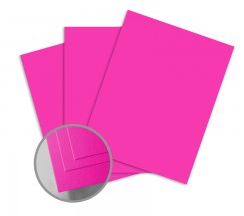 ColorMates Smooth & Silky Shocking Pink Card Stock Valentines Day