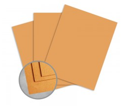 Treasures Butternut Orange Card Stock Valentines Day