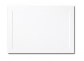 Fine Impressions Hi White Folded Panel Cards