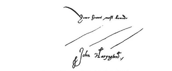 Signed Letter Stationery
