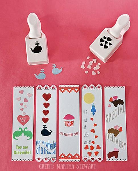 Valentines Day Bookmark Martha Stewart