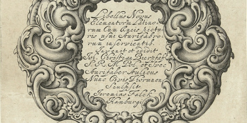 Baroque Typography Ornate Borders Flourishes