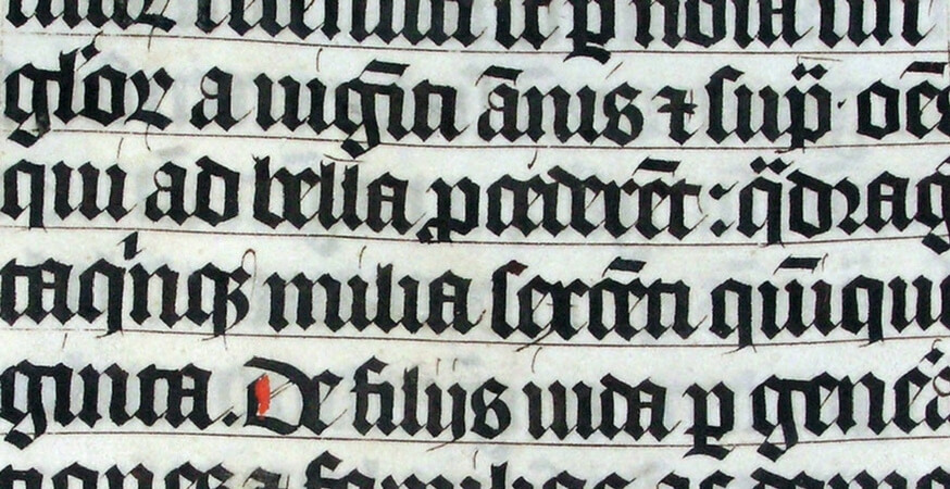 History of Typography: If It's Not Baroque, Don't Fix It