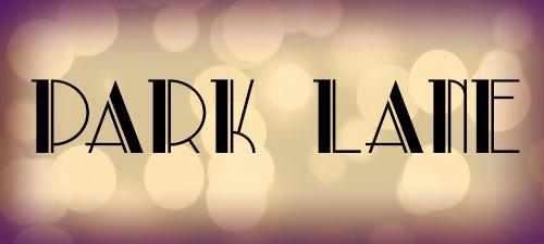 Featured Wedding Fonts Park Lane