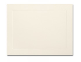 Ivory Flat Panel Card