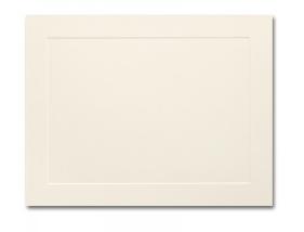Ivory Flat Panel Card