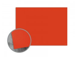 Bright Orange Flat Cards