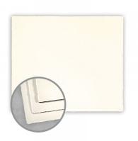 Ivory Flat Card