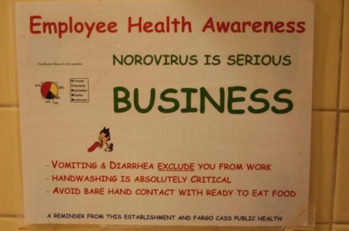 Novovirus is a Serious Business Comic Sans
