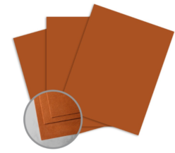 ColorMates Deep Terra-Cotta Card Stock