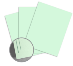 ColorMates Smooth & Silky Green Card Stock