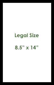 Legal Size Paper