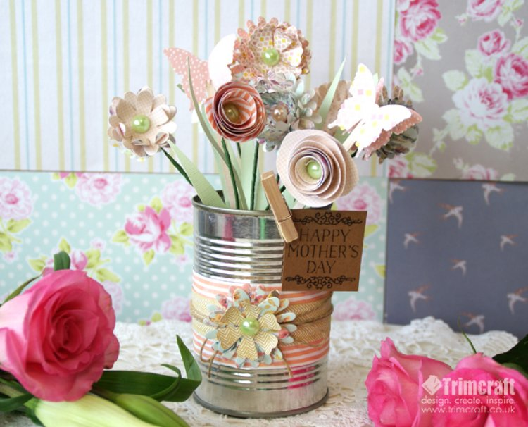 Mothers Day Paper Flowers Trimcraft