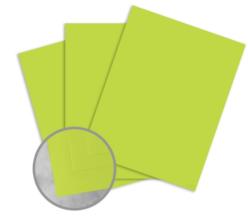 Pop Set Digital Lime Tonic Card Stock