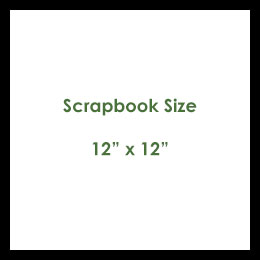 Scrapbook Size Paper
