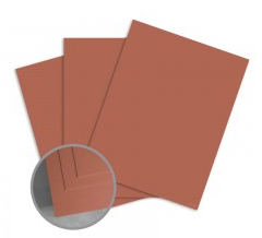ColorMates Smooth & Silky Cayenne Pepper Card Stock