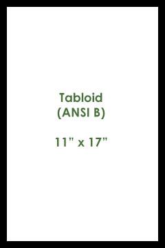 Tabloid Size Paper