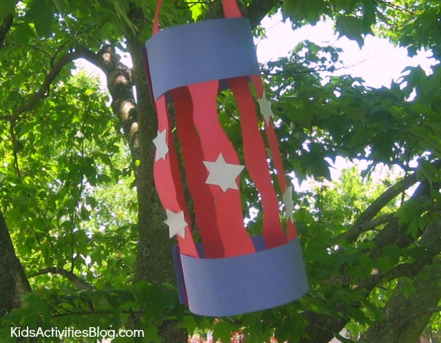 4th of July Paper Lantern