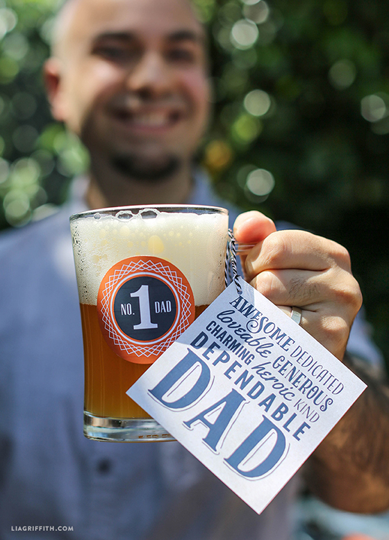 Fathers Day Printable Coasters Lia Griffith