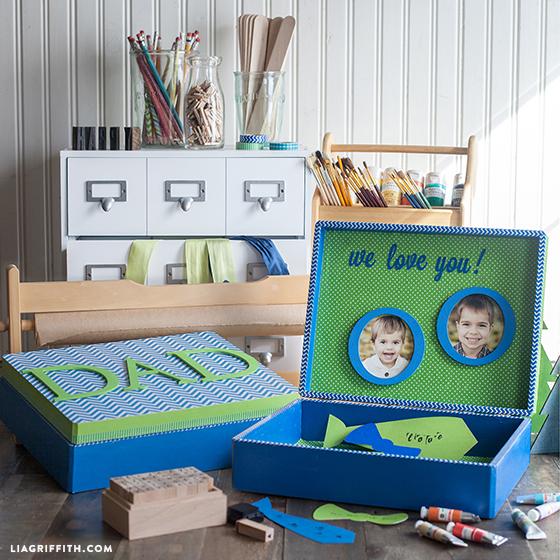 Fathers Day DIY Treasure Box Lia Griffith